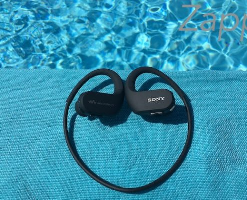 casque mp3 natation Sony Walkman NW-WS413