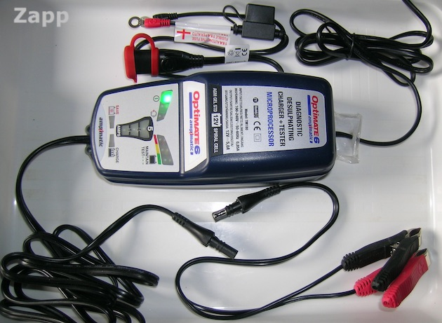 chargeur batterie moto Tecmate Optimate-6