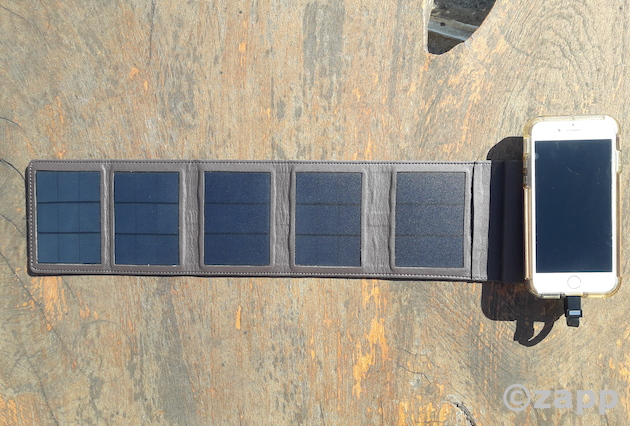 chargeur solaire portable sunclice