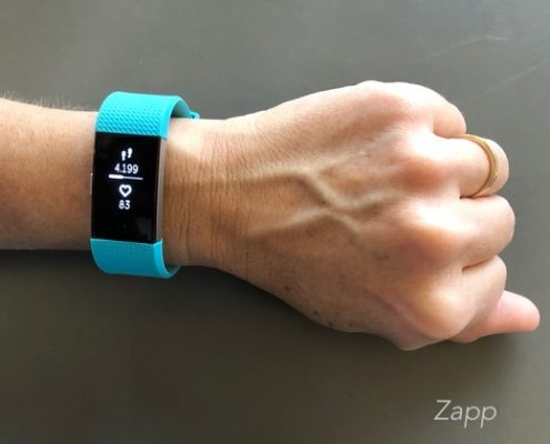bracelet cardio fitbit charge 2
