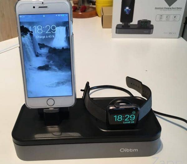 support chargeur Apple Watch
