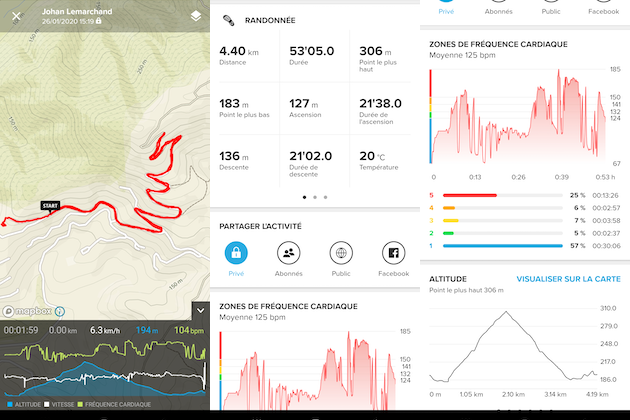 Suunto 9 application