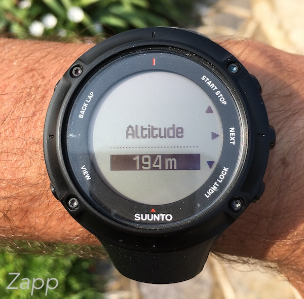 suunto ambit3 peak montre altimètre
