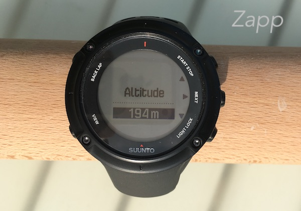 suunto ambit3 peak montre altitude